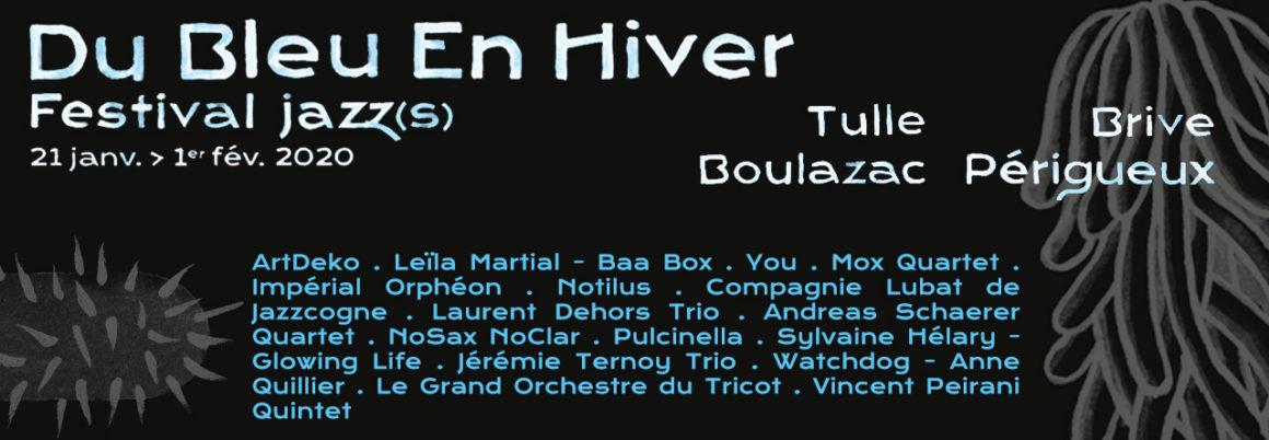 Festival Du Bleu en Hiver – Tulle Logo